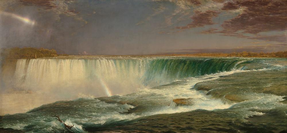 Niagra Falls by Frederic Edwin Church