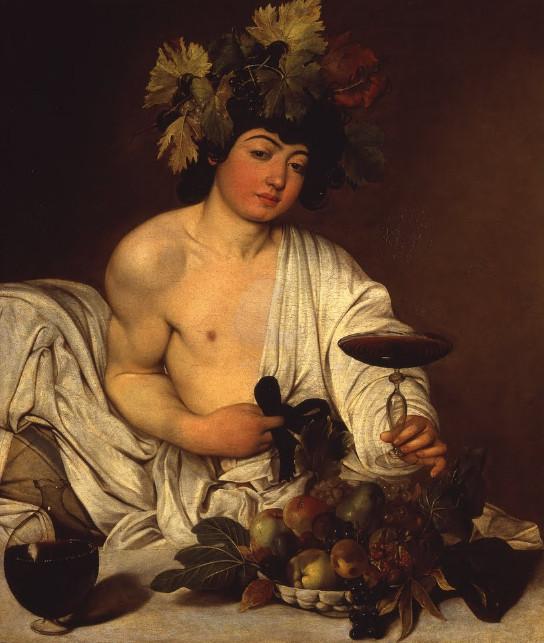 The adolescent Bacchus - Caravaggio Meris
