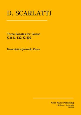 Scarlatti Sonatas for Guitar