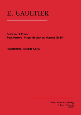 Gaultier Suiet in D Minor