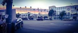 Jour 1 - Soleil rouge - Huntington Drive, Los Angeles