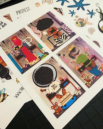 CarrieLand -Art Sticker1