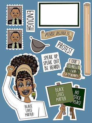 Carrieland -Black Lives Matter
