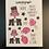 Thumbnail: Carrieland - Breast Cancer sticker sheet