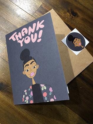 Thank you | notecard