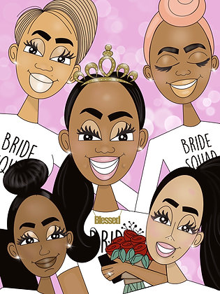 Bride Squad | Greeting Card