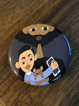 Father and Son- Button