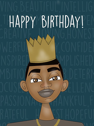Happy Birthday! ( young king)