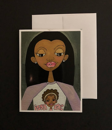 Graphic Tee Notecard |  Issa Rae