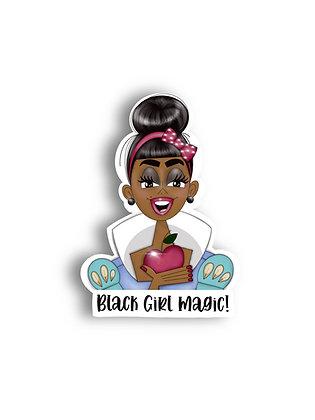 Black Girl Magic VinylDie Cut Sticker Sheet
