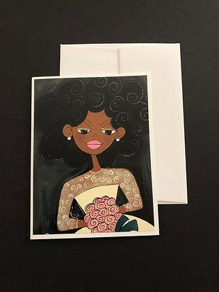 The Bride | Notecard