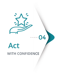 Step 4 of convert dial process - act with confidence