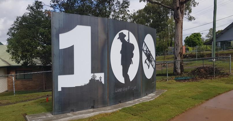 100 Anzac Installation