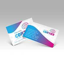 Flex the Cortex Business card display.jp