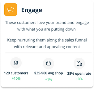 Convert dial Engage app snippet