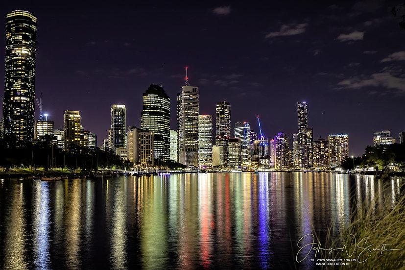 Brisbane Night Skyline