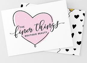 The Finer Things Business Card Design