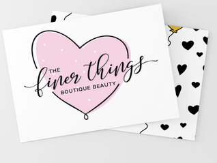 Finer Things Business card