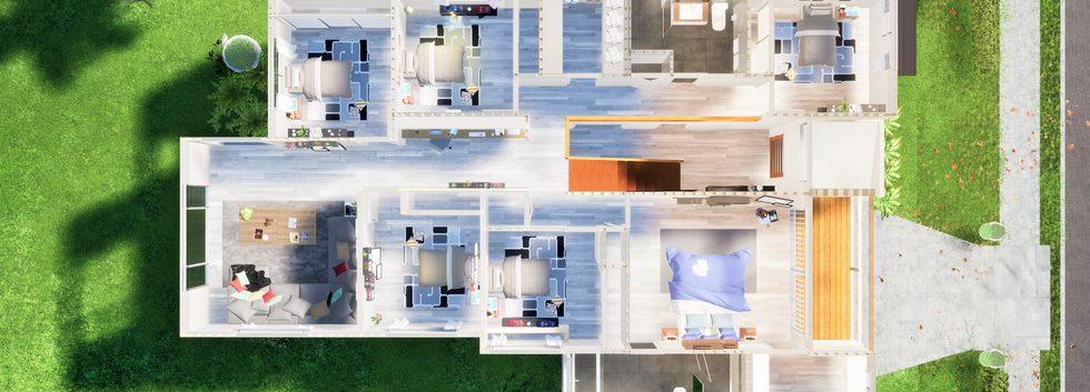 The Bokarina Floor Plan