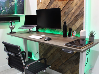 Motorized Desk with Enhanced Technology in your Home or Office