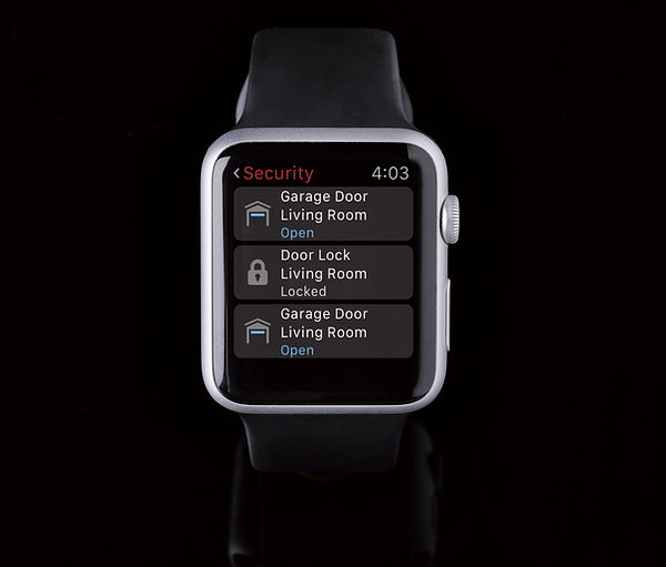 Smart Control System with Control4 and the Apple Watch by Nu Automations for your smart home and home automation needs.