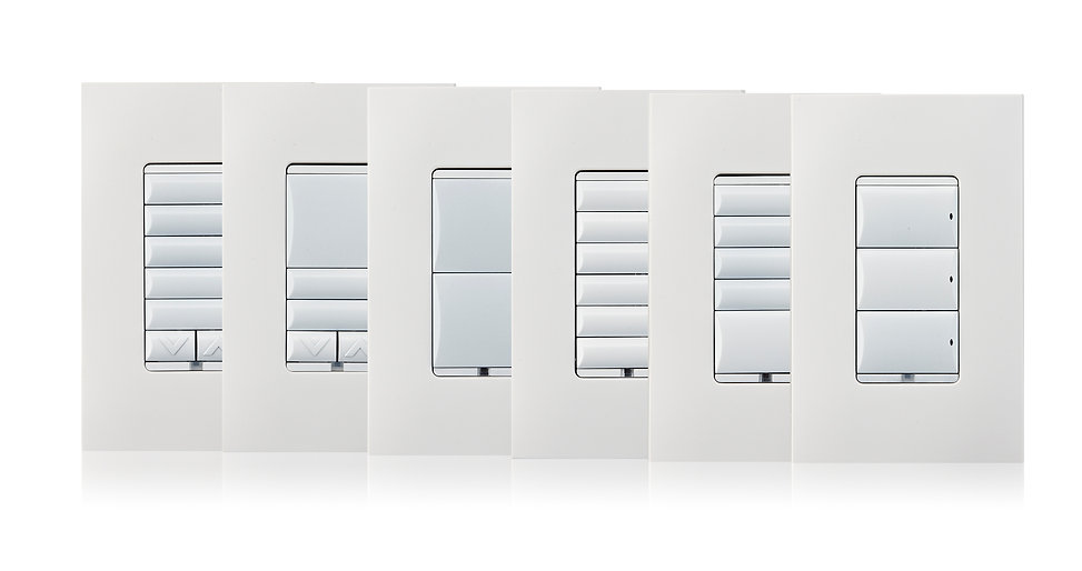 Control4 Smart Lighting keypads by Nu Automations for your smart home and home automation needs.