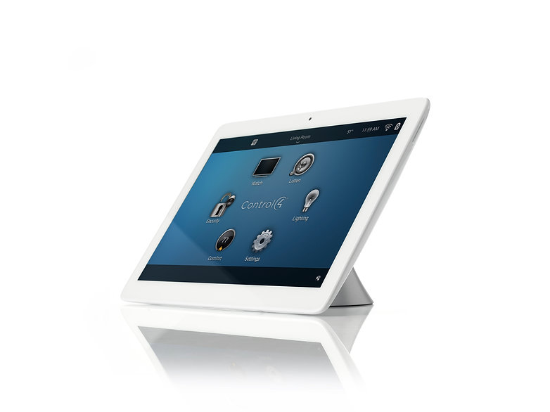 "Control4 7"" Portable Touch Screen by Nu Automations for your smart home and home automation needs."