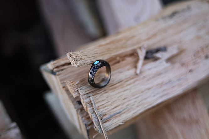 Simos - Work Sample - Robin's Nest Ring.