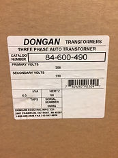 Dongan 3-Phase Auto Transformer
