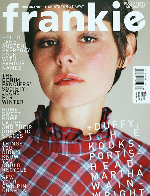 Caitlyn Cook for Frankie Magazine by Natasha Cantwell