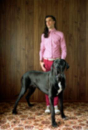 Matt Brennan in Man's Best Friend, Frankie Magazine by Natasha Cantwell
