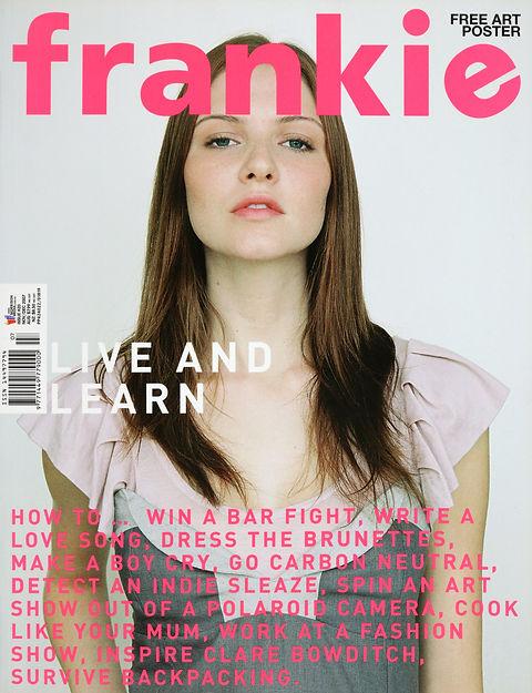 Vanessa for Frankie Magazine by Natasha Cantwell