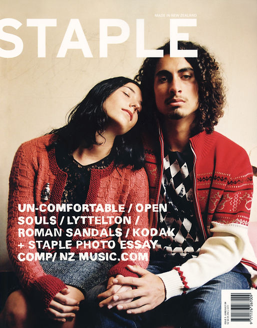 Anna and Straton for Staple Magazine by Natasha Cantwell