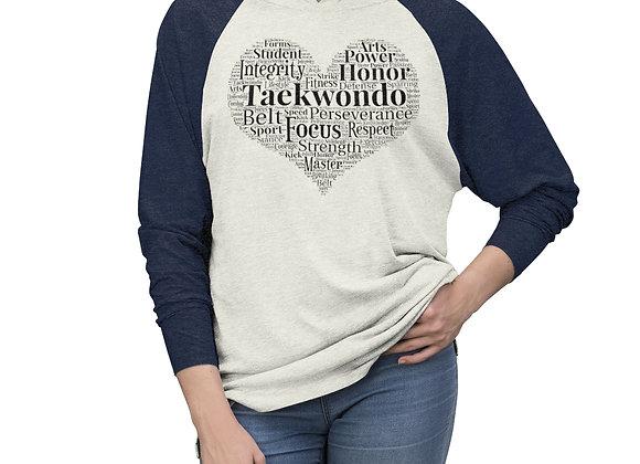 Love Taekwondo Hoodie