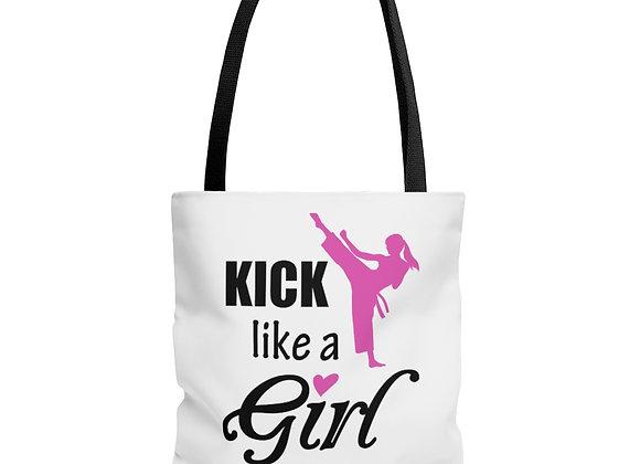 Kick Like a Girl Tote