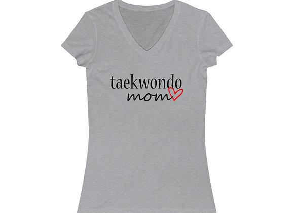 Taekwondo Mom V-Neck