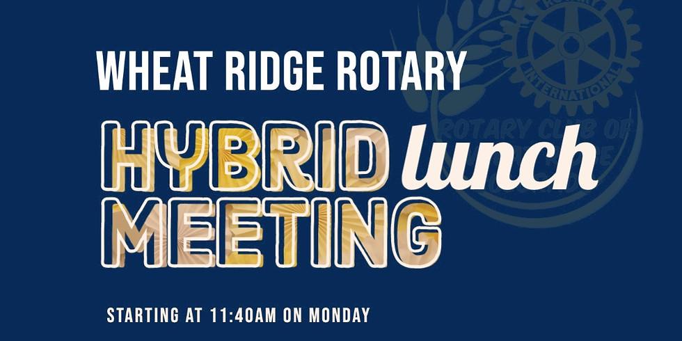 Rotary Club Hybrid Meeting