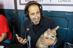Warren and Snuggles on the Air 2012
