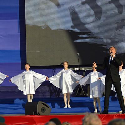 День победы в БКЗ и на Дворцовой площади