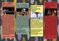 IL CANTO DELLA CICALA programma 2014