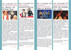 IL CANTO DELLA CICALA programma 2015
