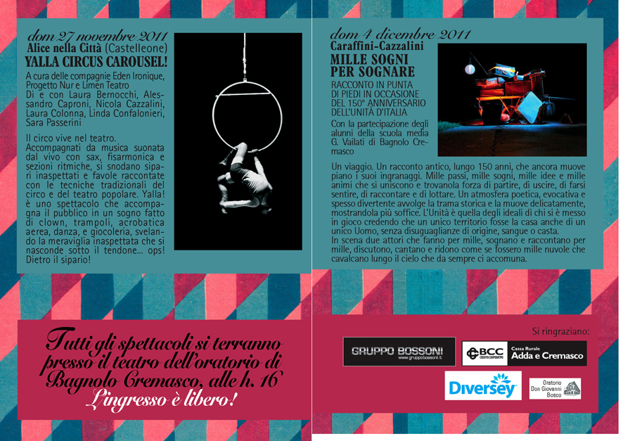 IL CANTO DELLA CICALA programma 2011