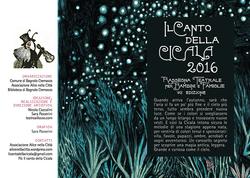 IL CANTO DELLA CICALA programma 2016