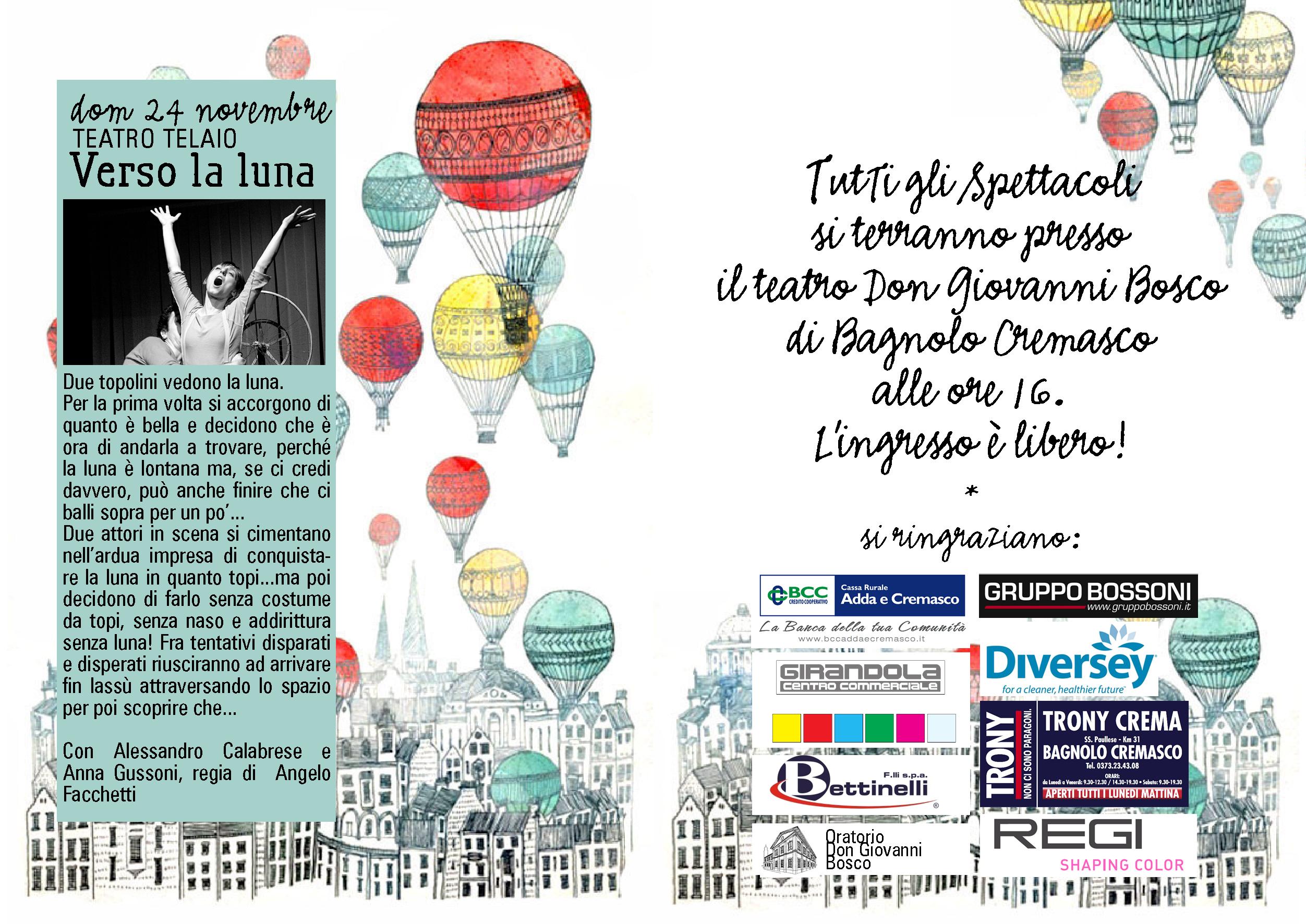 IL CANTO DELLA CICALA programma 2013