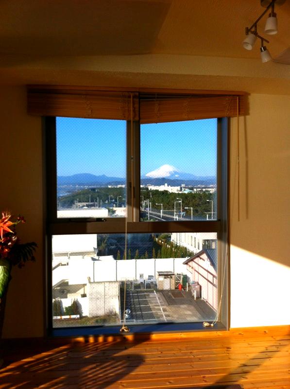 スタジオからの眺め(西側)