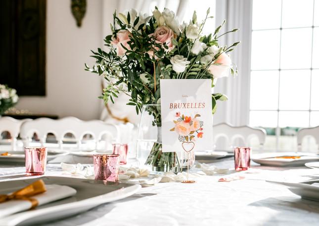 Centre de table romantique - Romantic centerpiece