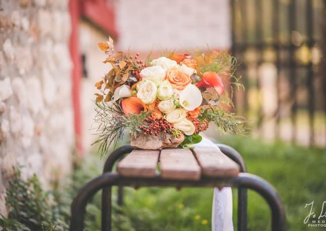 Bouquet Automnal - Bride's fall bouquet