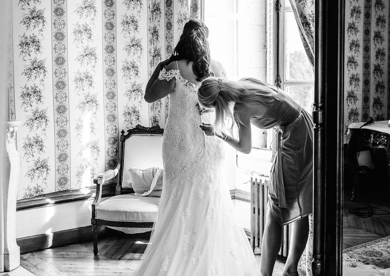 Robe de mariée - Bride's wedding dress