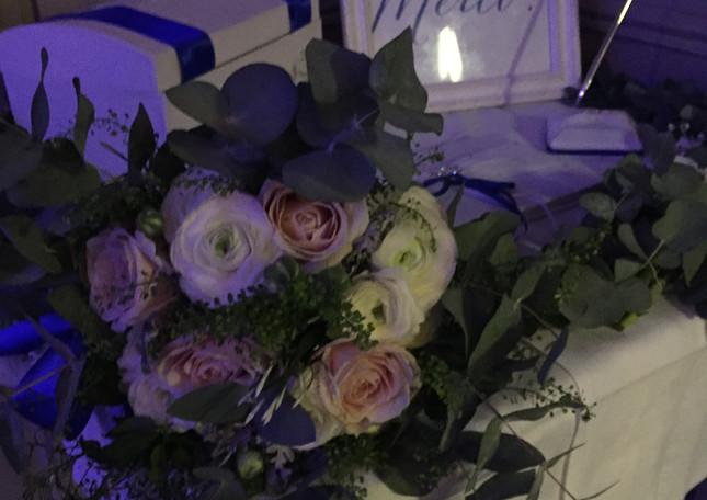 Bouquet de la mariée hiver