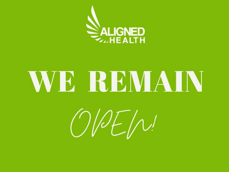We are open!  What to expect at your next appointment
